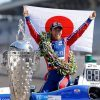 فوز الياباني ساتو في سباق إنديانابوليس 500