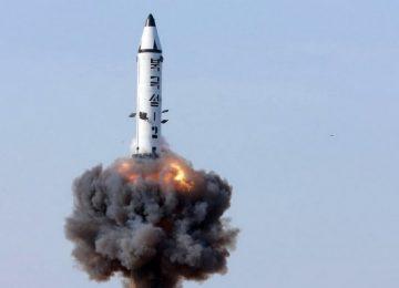 سقوط صاروخ كوري شمالي في منطقة المنفعة الاقتصادية اليابانية
