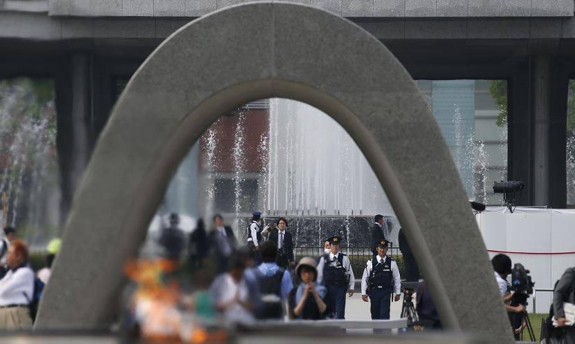 اليابان تحيي الذكرى الـ 72 لكارثة إلقاء القنبلة النووية على هيروشيما