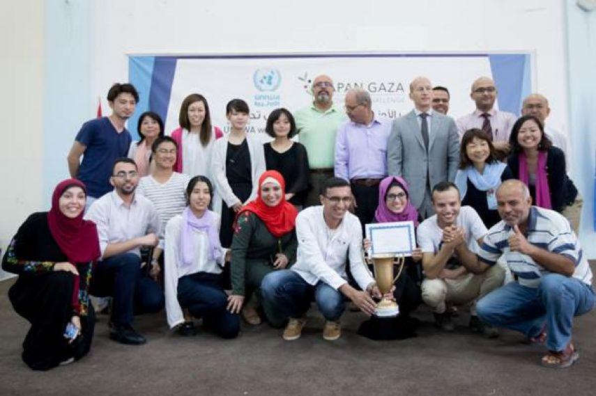 الفريق الفلسطيني إيكو هوم يفوز بجائزة يابانية للإبداع