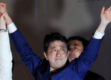 مستقبل اليابان مع شينزو آبيه