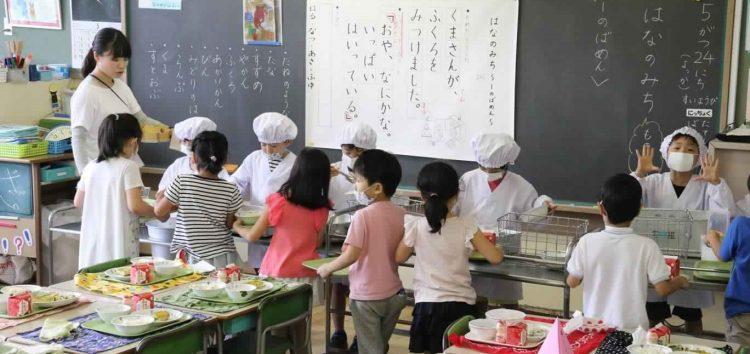 الغذاء بميزان التربية في اليابان