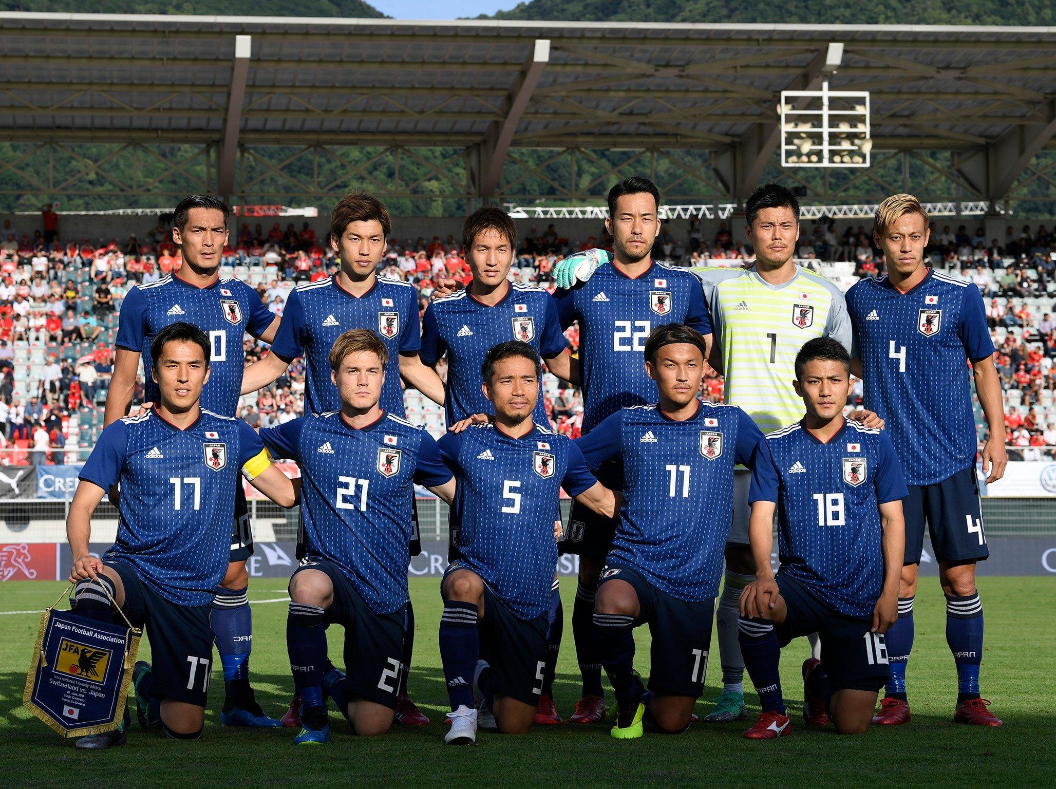 تشكيلة منتخب اليابان في روسيا 2018