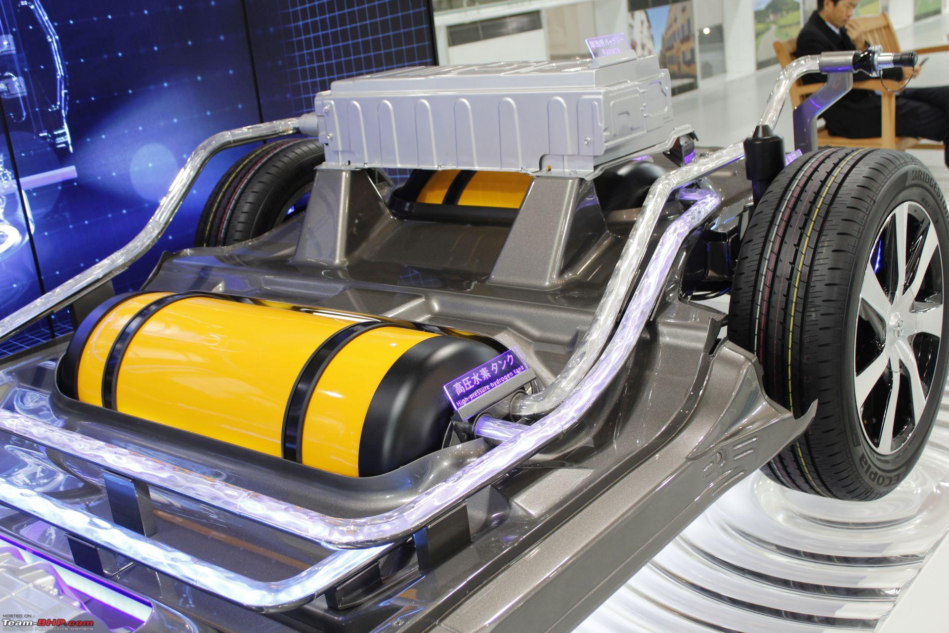 صورة توضيحية لخزان الهيدروجين في قلب السيارات الحديثة