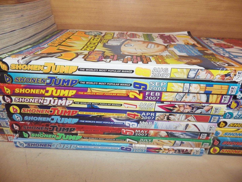 للشركة العديد من مجلات المانغا الشهيرة مثل مجلة شونين جمب