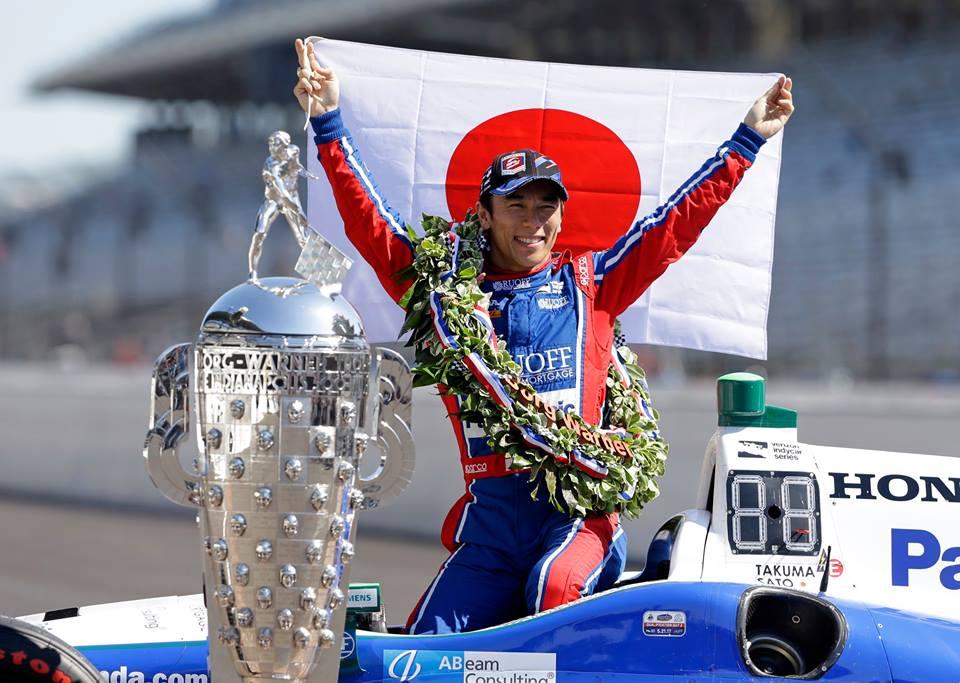 """فوز الياباني """"ساتو"""" في سباق إنديانابوليس 500"""
