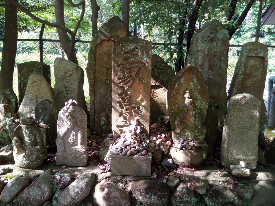 شواهد القبور في اليابان