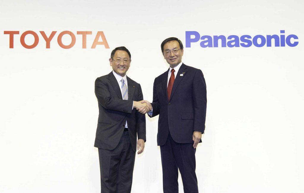 شراكة استراتيجية بين تويوتا و باناسونيك