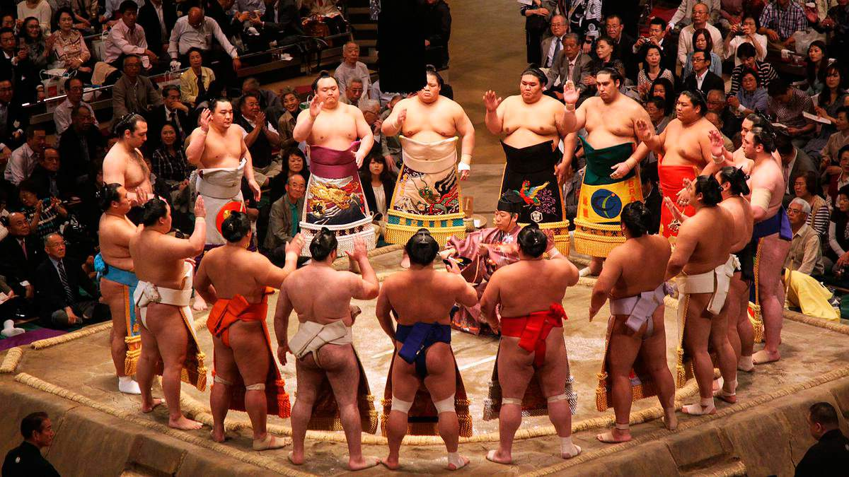 نظرة على رياضة السومو