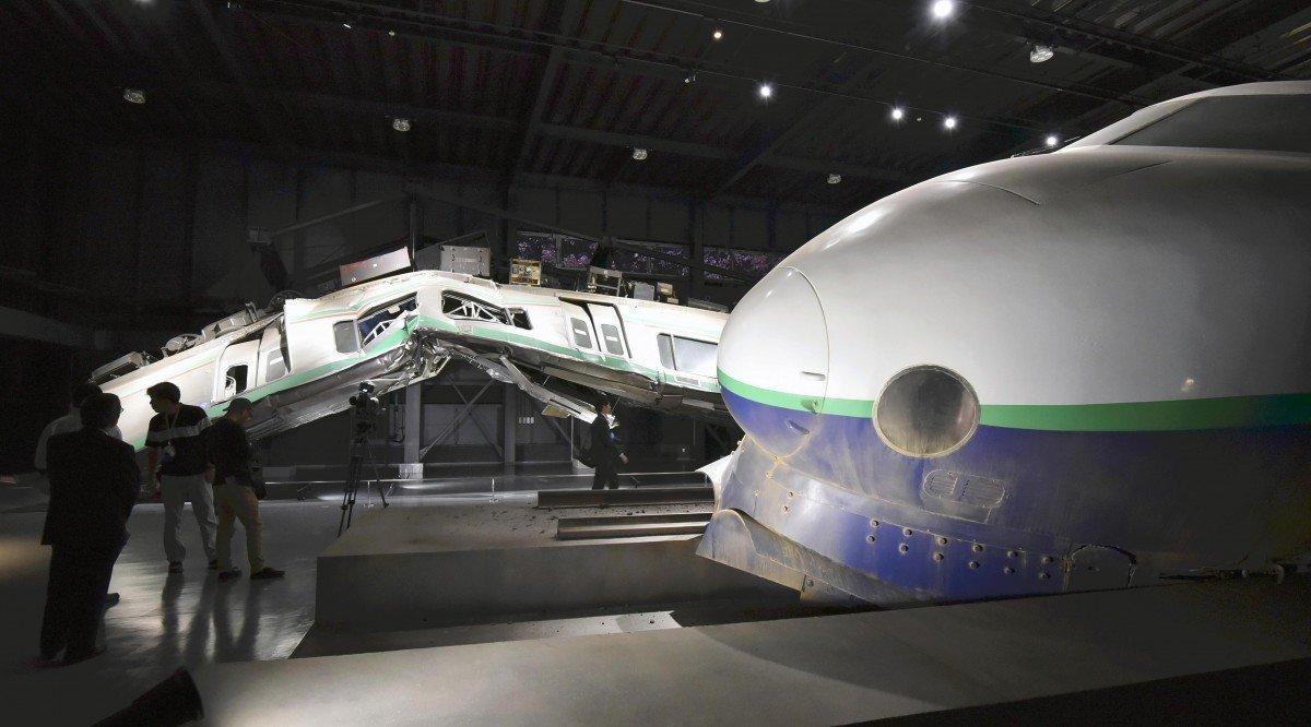 متحف لحوادث القطارات في اليابان