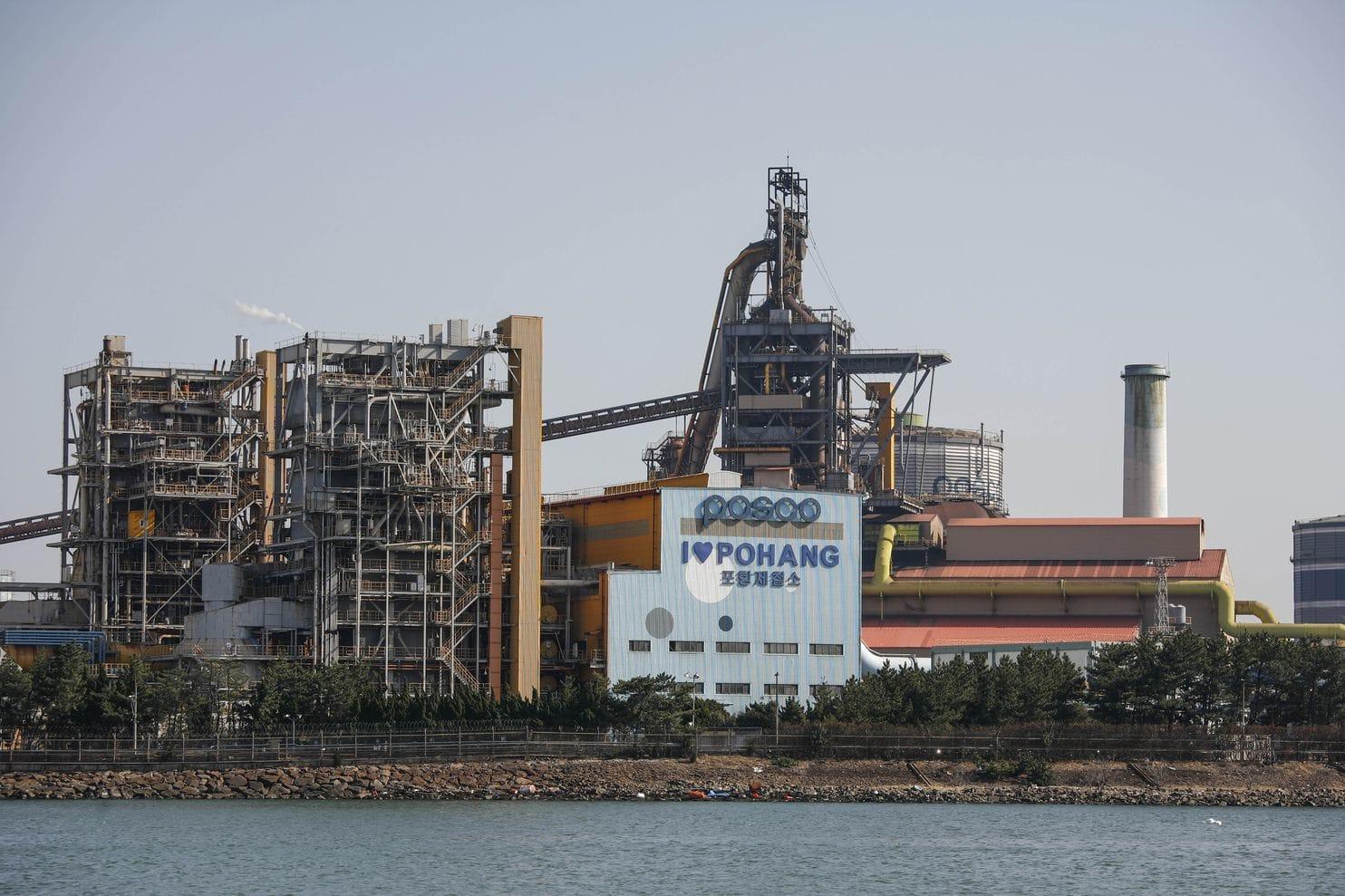مصنع بوهانغ للصلب في كوريا الجنوبية