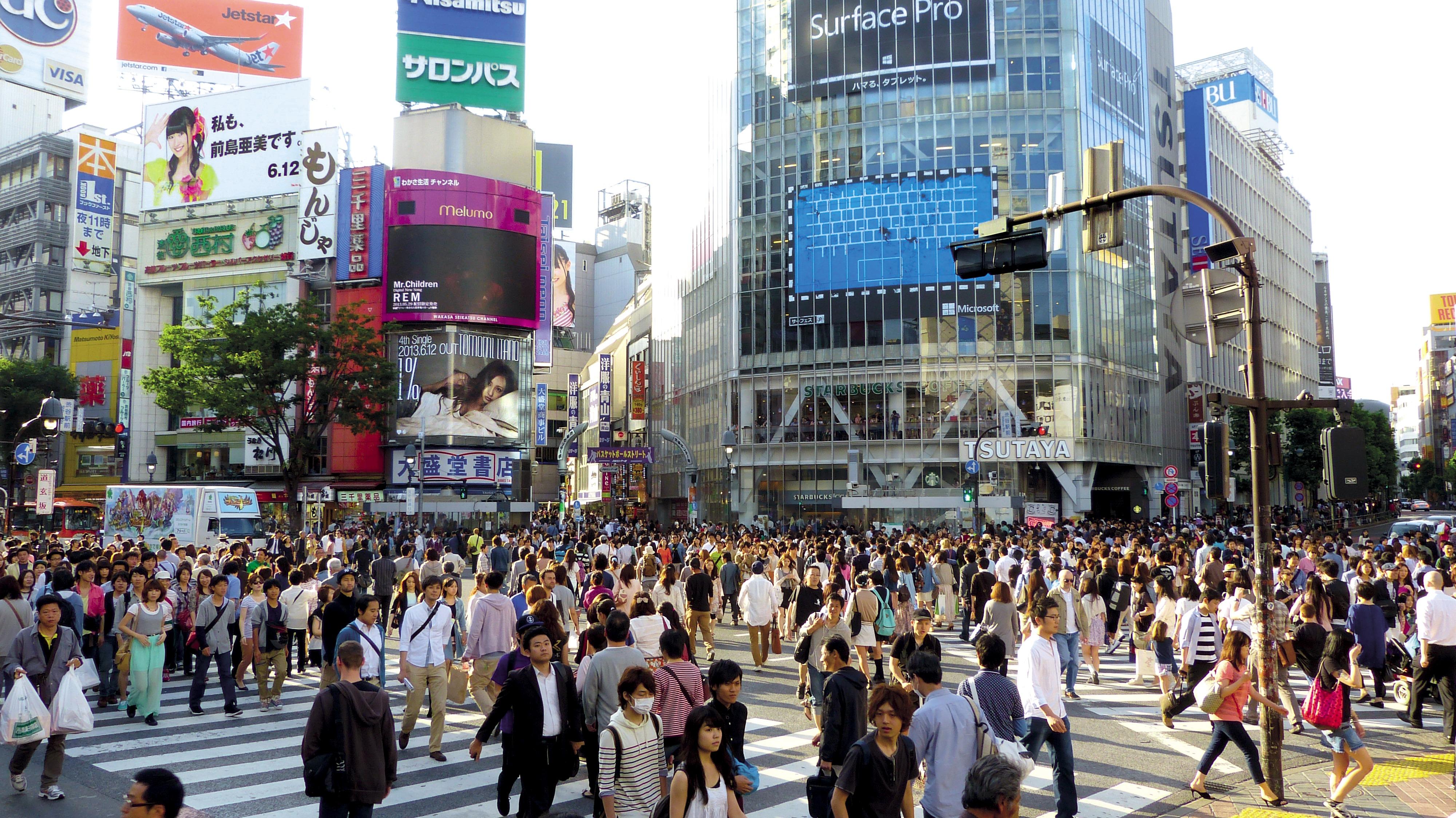 اليابان ستمنح ثلاثة ملايين ين لمن ينتقل خارج طوكيو
