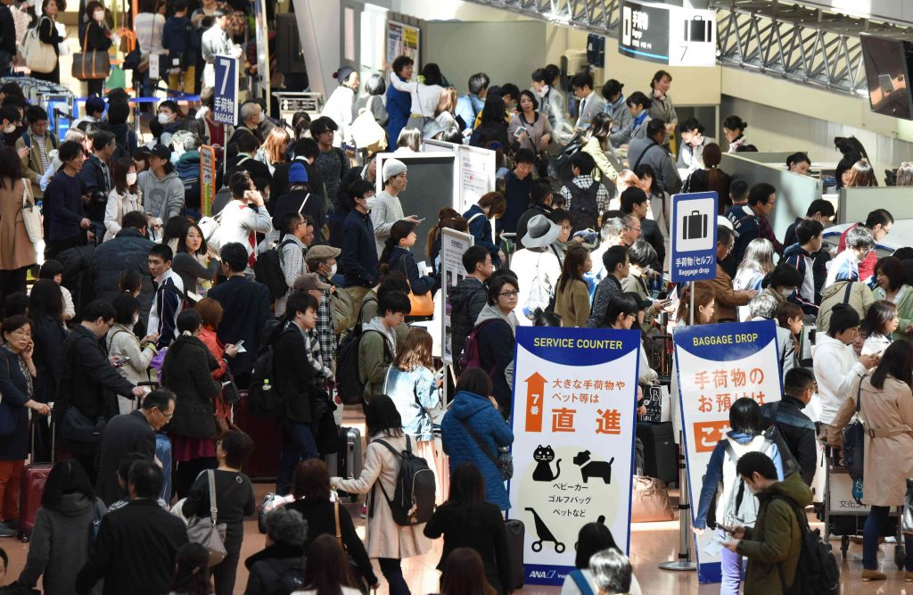 بلغ عدد السائحين في اليابان أكثر من 30 مليون سائح بالعام الماضي فقط
