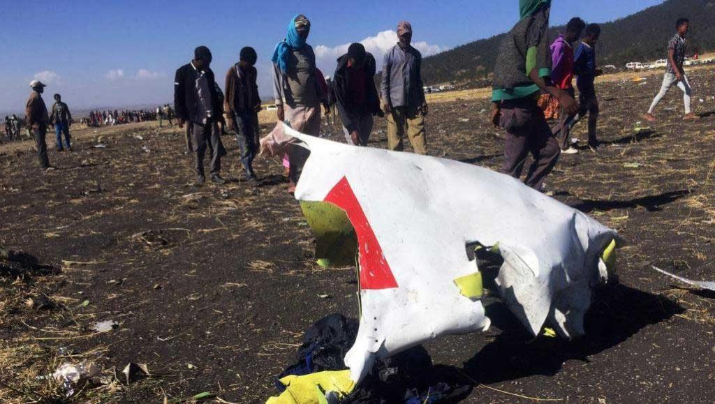 تحول الطائرة الإثيوبية إلى شظايا بعد دقائق من إقلاعها | رويترز
