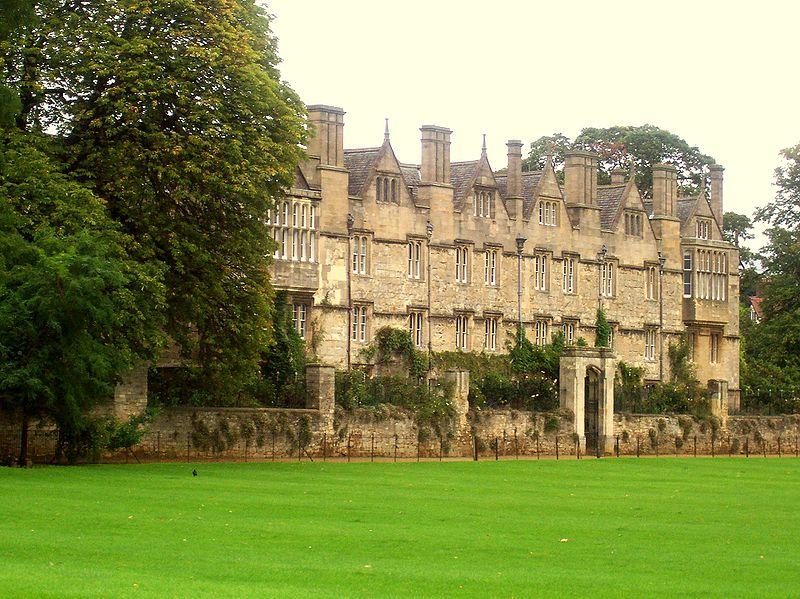 حرم كلية ميرتون، جامعة أوكسفورد في بريطانيا