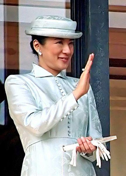 """الأميرة """"ماساكو"""" خطيبة ولي العهد الأمير ناروهيتو آنذاك"""