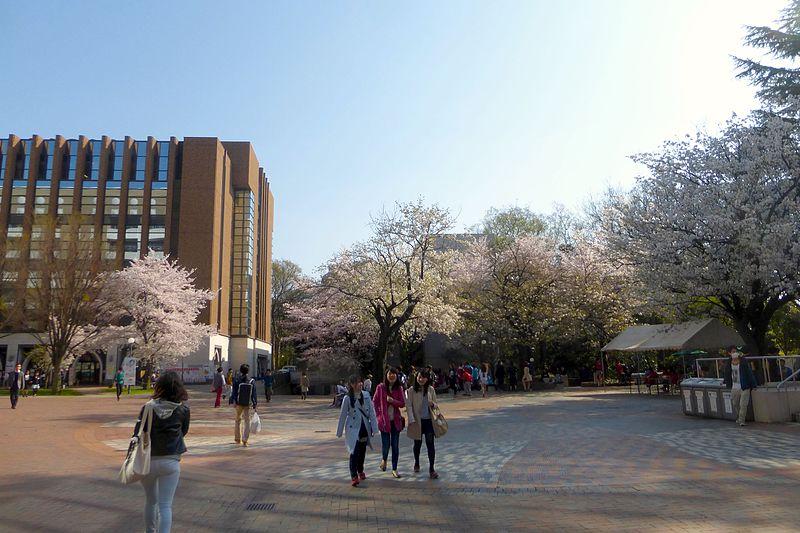 حرم جامعة غاكوشوئين الجامعي في العاصمة طوكيو