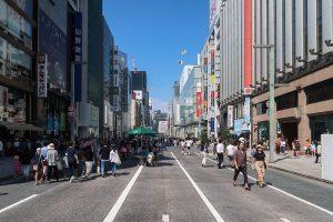 منطقة غينزا في طوكيو