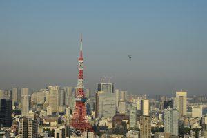 برج طوكيو في قلب العاصمة