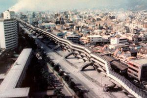 دمار واسع في مدينة كوبيه عام 1995
