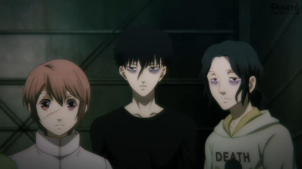 شخصيات من أنمي Devils' Line