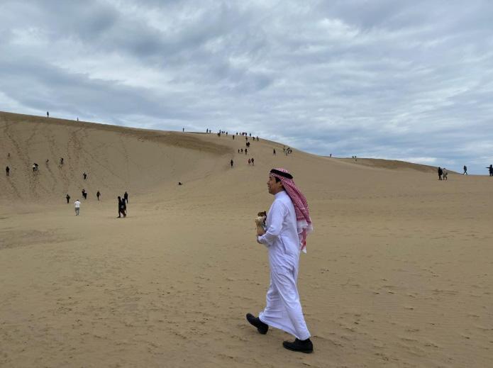 كثبان توتوري الرملية