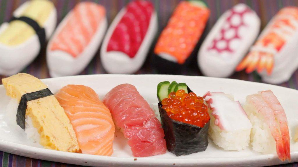 أنواع السوشي المختلفة (صورة تعبيرية)