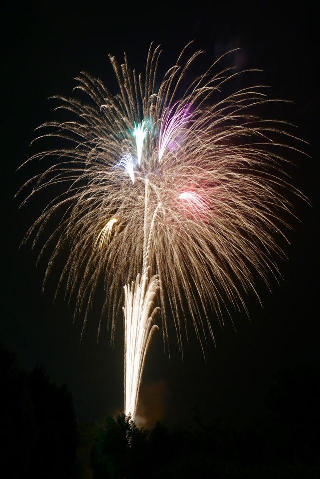 الألعاب النارية في سماء اليابان | عبر شركة ماروتامايا