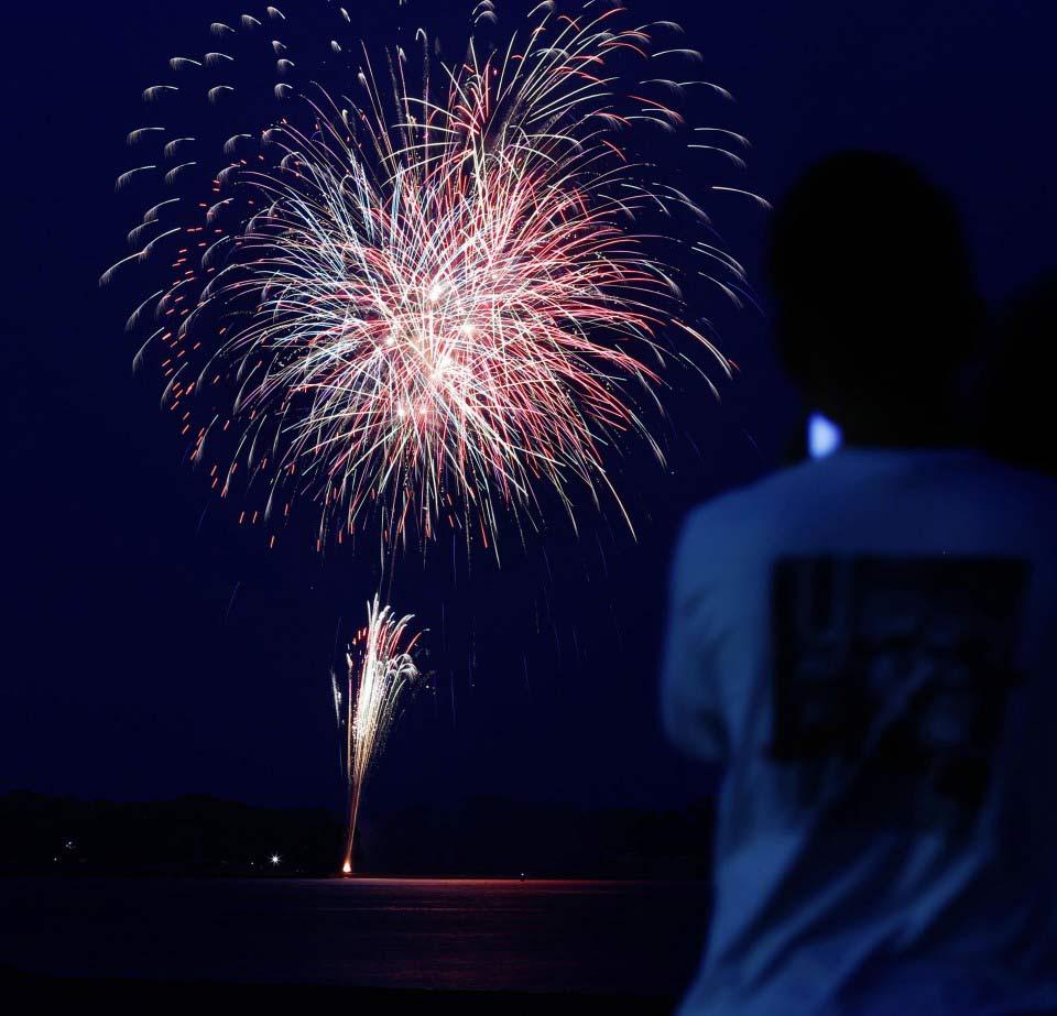الألعاب النارية في سماء اليابان | عبر كيودو